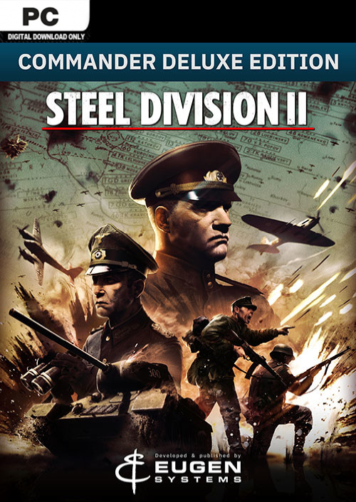 Steel Division 2 - Commander Deluxe Edition (Steam Gift 2019