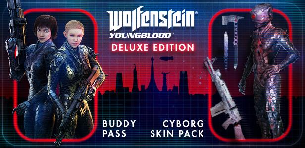 Wolfenstein: Youngblood Deluxe (Steam Gift RU) 2019