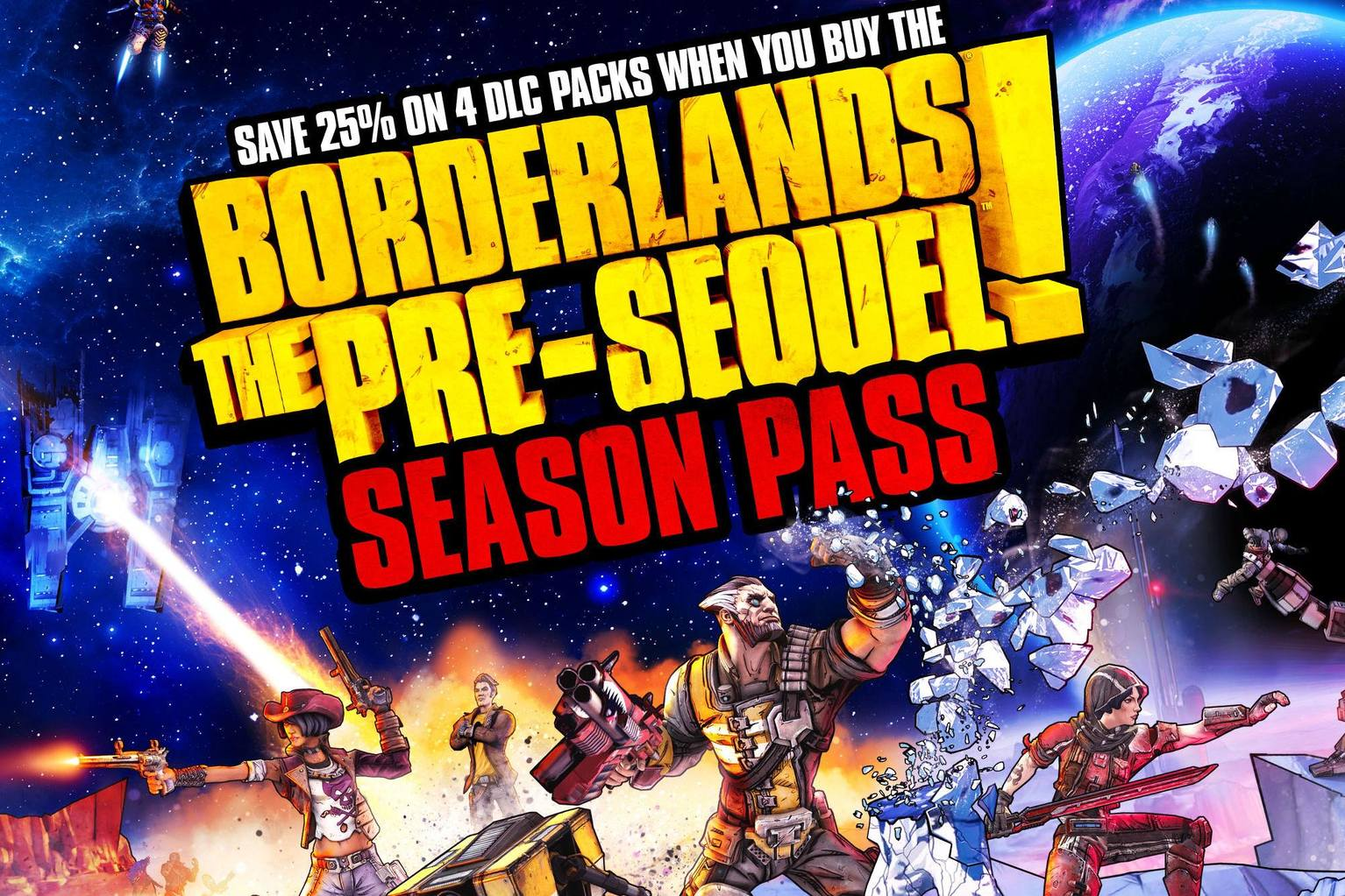Borderlands: The Pre-Sequel + Season Pass 2019
