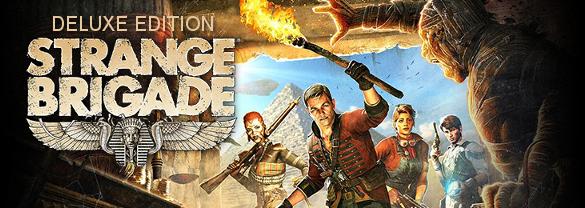 Strange Brigade Deluxe Edition (Steam Gift RU) 2019