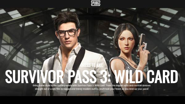 PUBG: Survivor Pass 3 Wild Card DLC (Steam Gift)