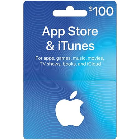 iTunes Gift Card USA 100$ (Photo)