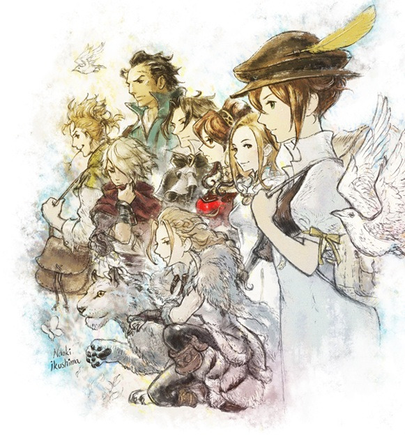 OCTOPATH TRAVELER (account)