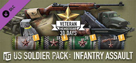 Heroes & Generals - US Soldier Pack: Infantry Assault