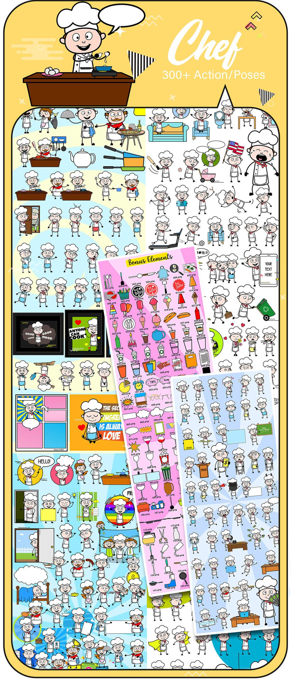 8,000+ Cartoon Character Vectors 2019