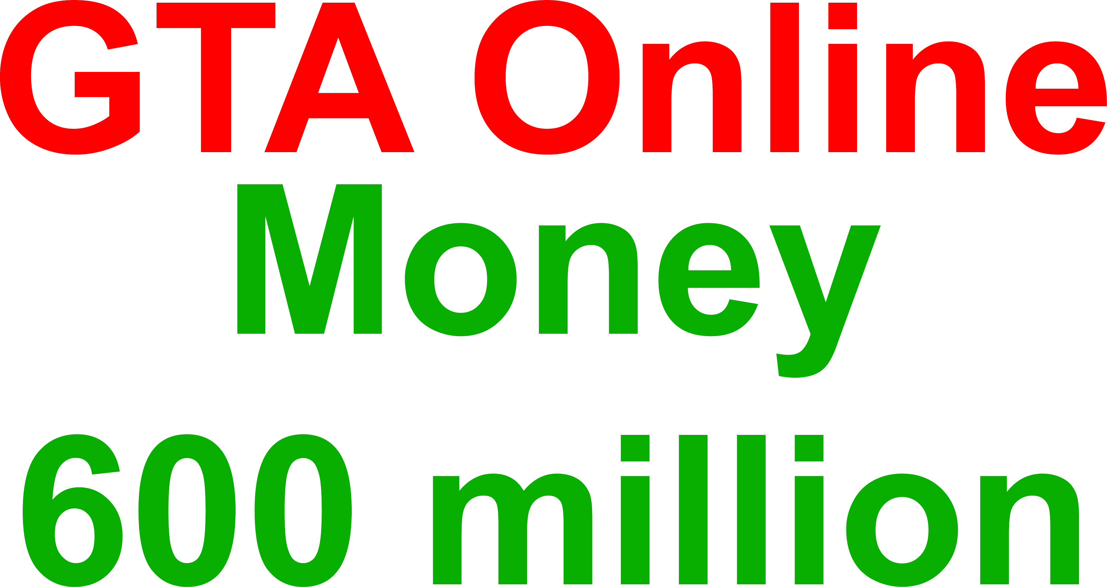 Grand Theft Auto V (GTA Online money 600 million) PC