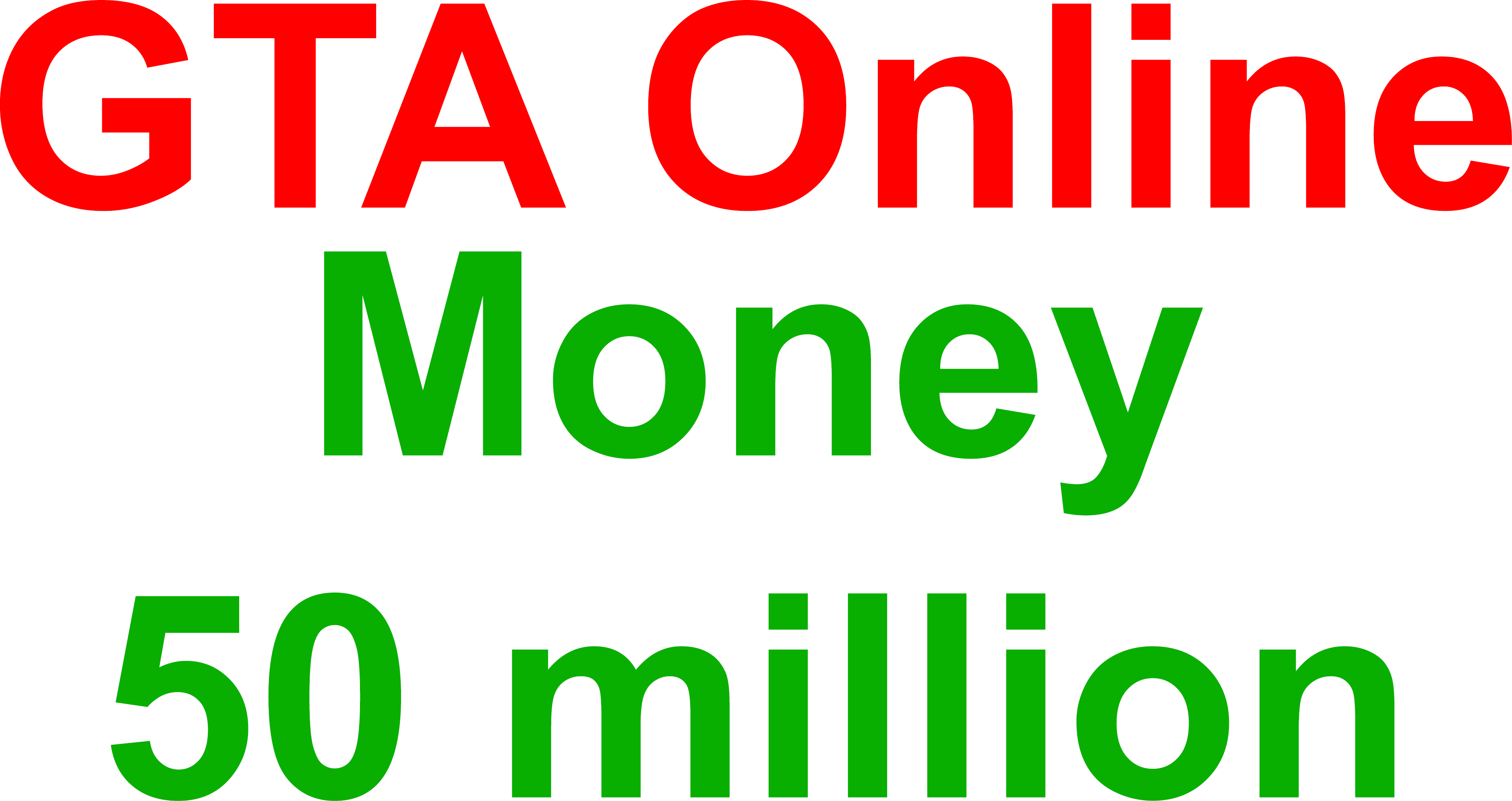 Grand Theft Auto V (GTA Online money 50 million) PC