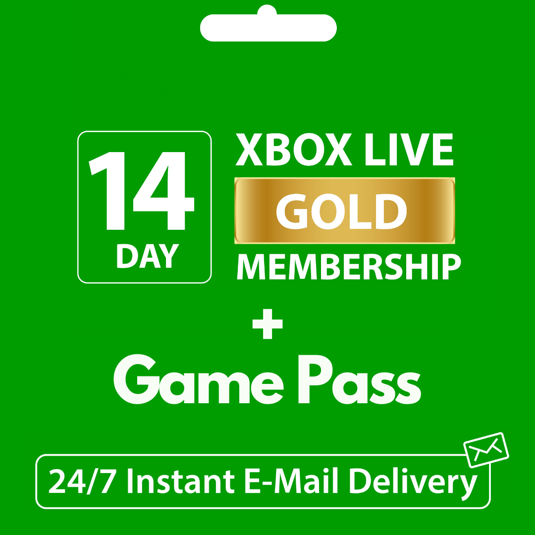 🟢XBOX LIVE GOLD (ONE|360)+GAME PASS 14 DAYS+1 MONTH*