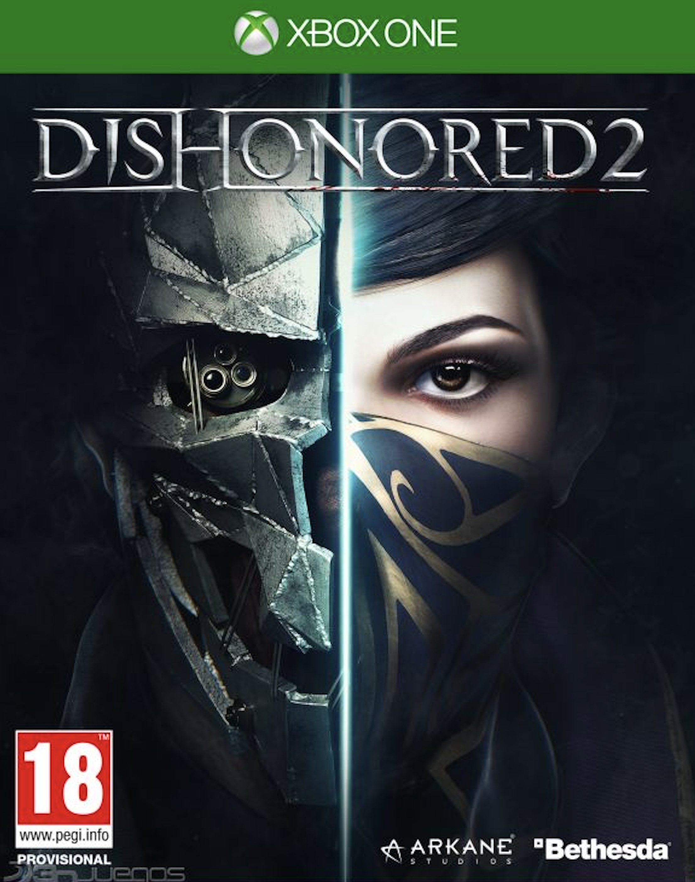 🟢DISHONORED 2 | XBOX ONE 🔑