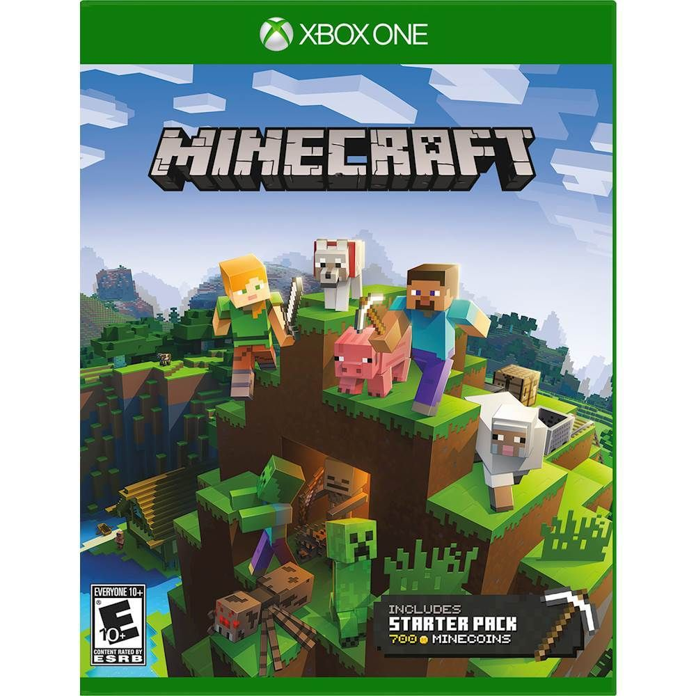 🟢Minecraft + Набор новичка (Xbox One) Ключ