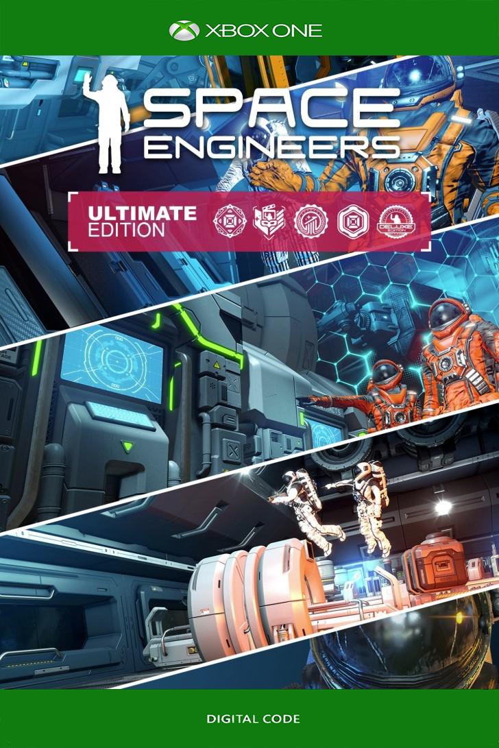 🟢Space Engineers Ultimate Edition 2019 XBOX ONE КЛЮЧ🔑