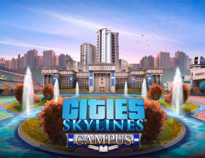 CITIES: SKYLINE CAMPUS (STEAM KEY/RUSSIA AND CIS)