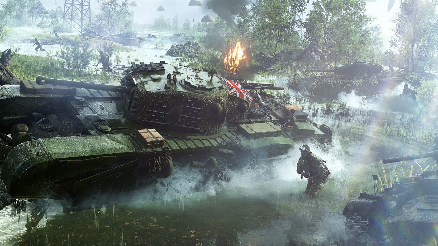 BATTLEFIELD V (ORIGIN / REGION FREE KEY)
