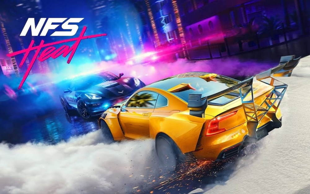 NEED FOR SPEED HEAT (KEY ORIGIN/REGION FREE)