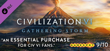 CIVILIZATION VI GATHERING STORM (STEAM KEY / RF AND CIS