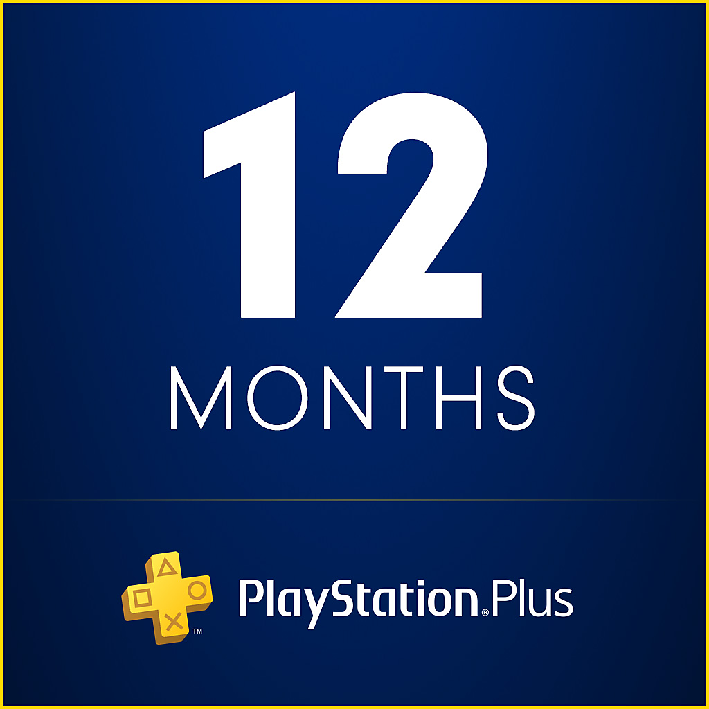 PlayStation Plus for 12 months | PS Plus 1 year (USA)