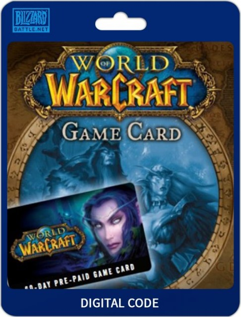 WOW Game time 30 DAYS, EU/RU Code + WoW Classic