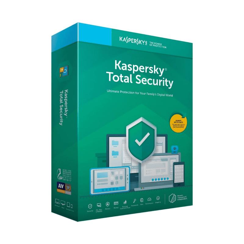 Kaspersky Total Security (1 ГОД - 1 ПК)