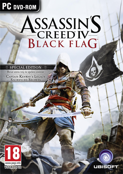 Assassins Creed 4 IV: Black Flag. Special edition