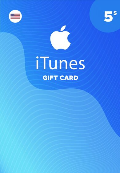 iTunes Gift Card $5 USA 🎵 🎮