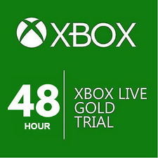 Xbox Live Gold 48 hours (Trial) Gift 🎁
