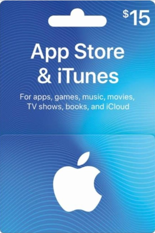 iTunes Gift Card $15 USA 🎵 🎮