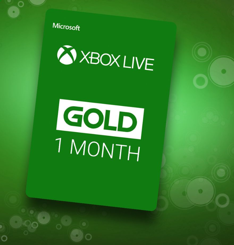 Xbox Live Gold 1 Month (Region Free) Gift