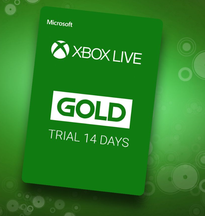 Xbox Live Gold Trial 14 days(Xbox ONE)
