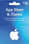 iTunes Gift Card $15 USA