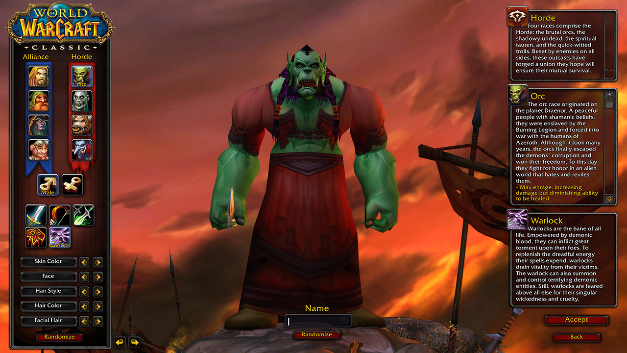 World of Warcraft Classic power leveling 30 to 50 lvl