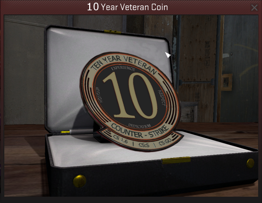 OLD STEAM ACCOUNT 15 years of service 2003 + FIRST MAIL