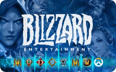 500 rub Blizzard Battle.net RU gift card code RUS 2019