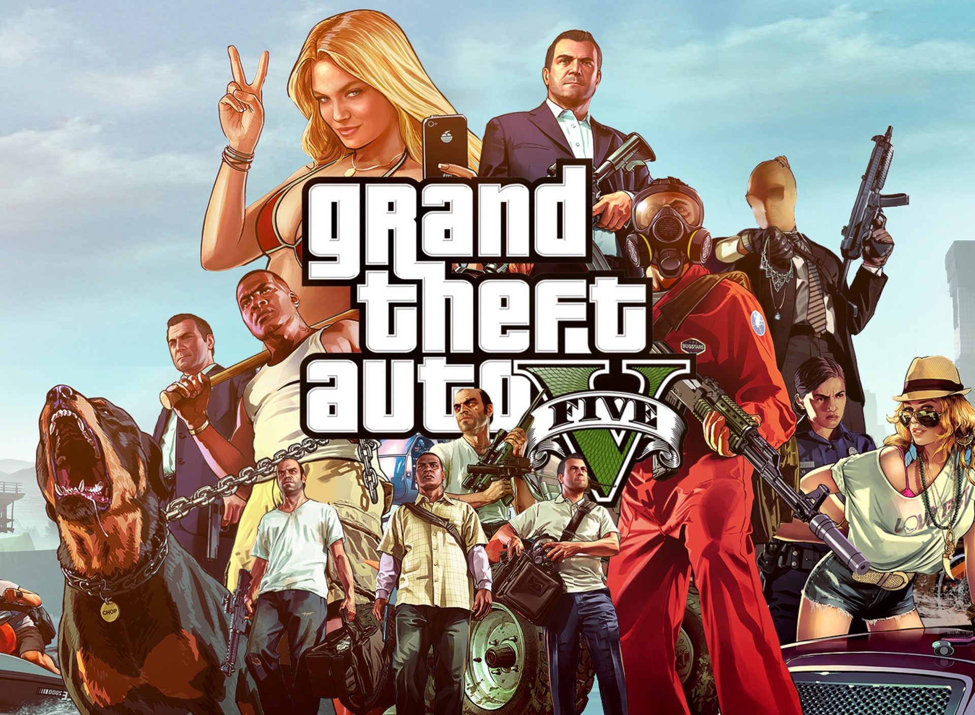 Grand Theft Auto V/GTA 5 PC[ONLINE!/WARRANTY]+PromoCode