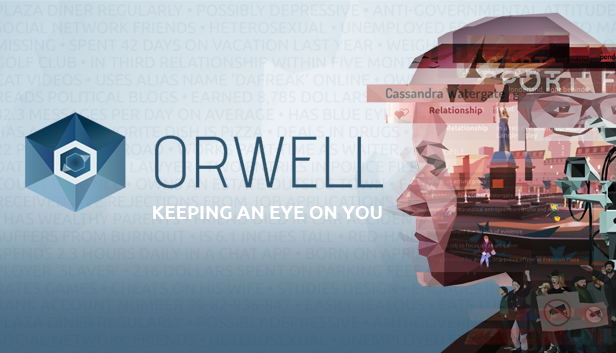 Orwell: Keeping an Eye On You STEAM KEY + BONUS 🎁