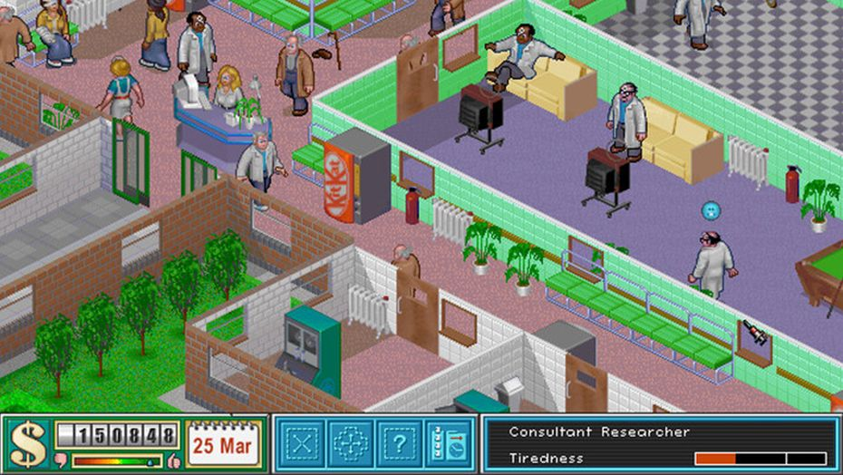 🏥 Origin Theme Hospital Account 🏥