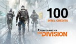 Tom Clancy's The Division - 100 Intel Credits UPLAY ROW
