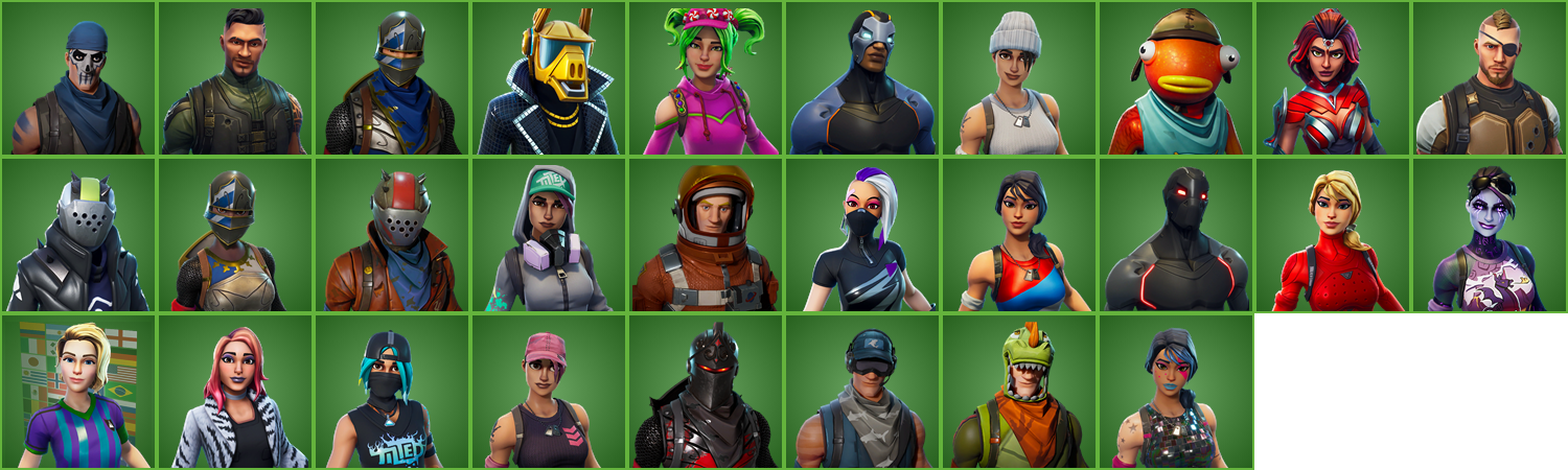 Black Knight + 28 Skins + Full access + 295$ donate