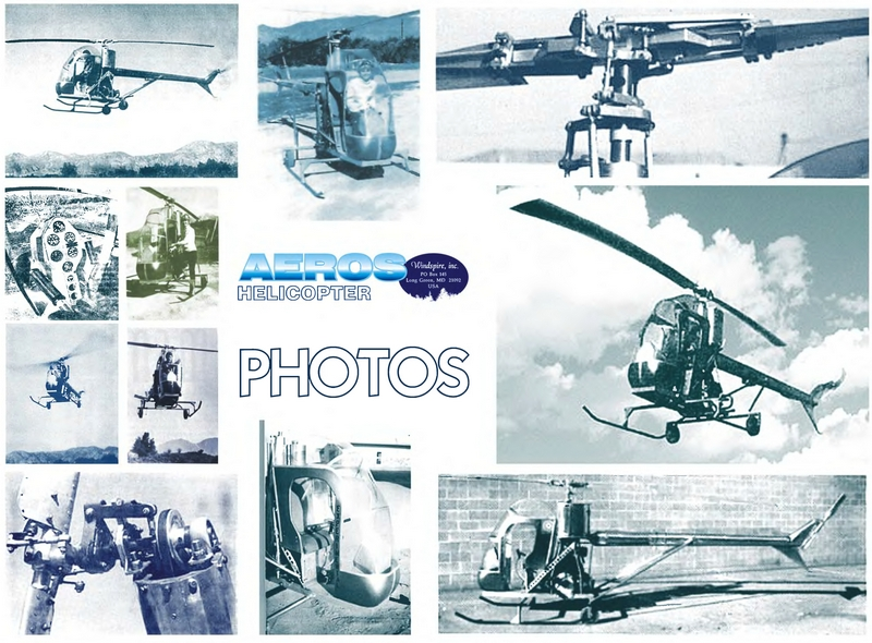 You Aviator. Drawings of helicopter Aeros.