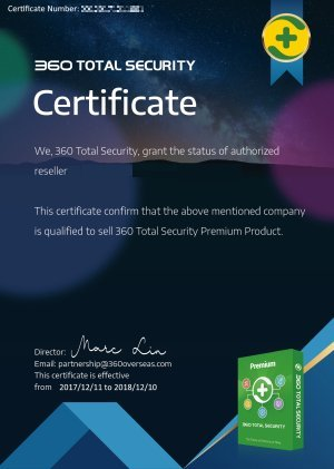360 TOTAL SECURITY PREMIUM 1 Year 3 PC✅