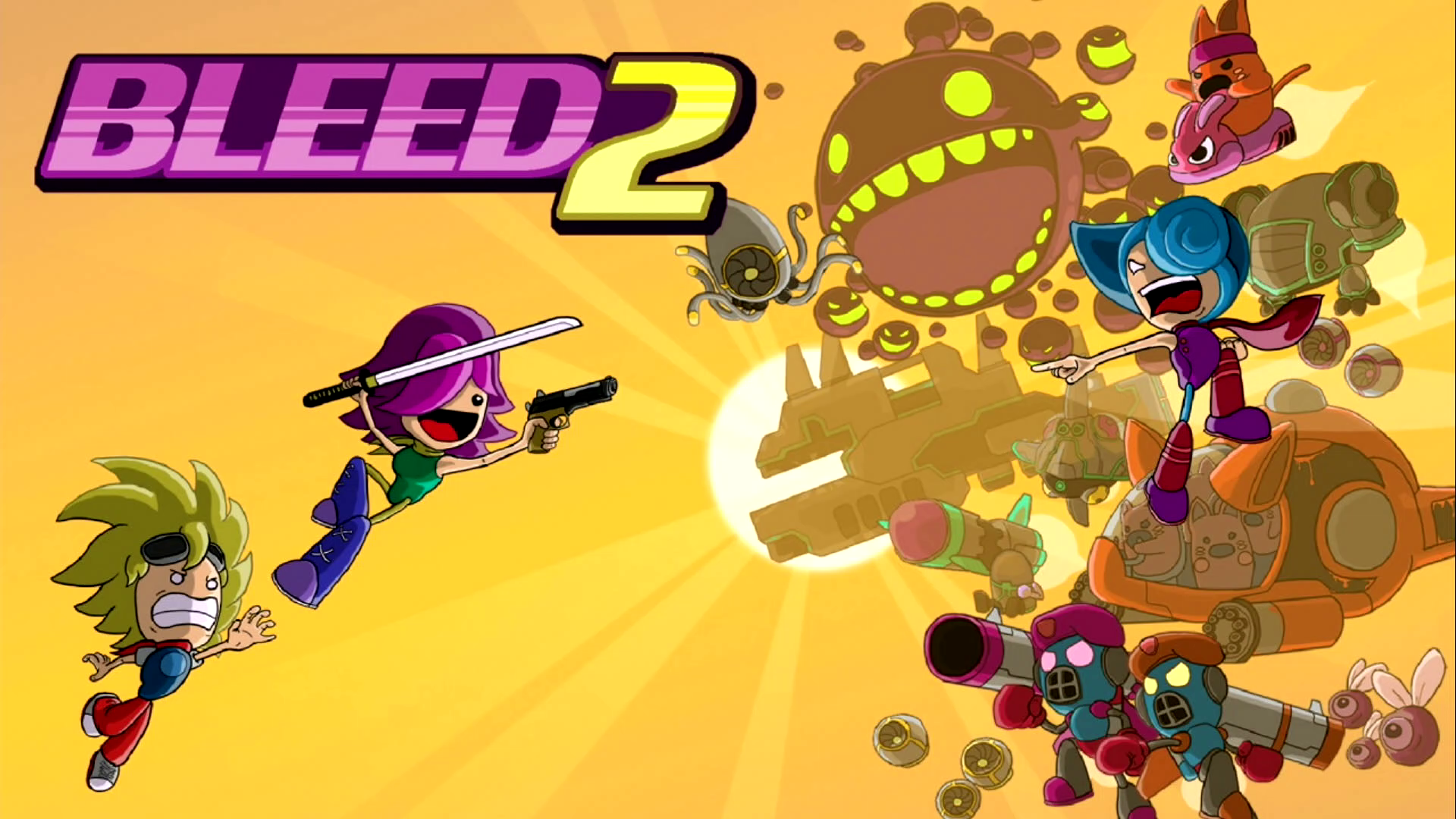 Bleed 2 (Steam Key Region Free)