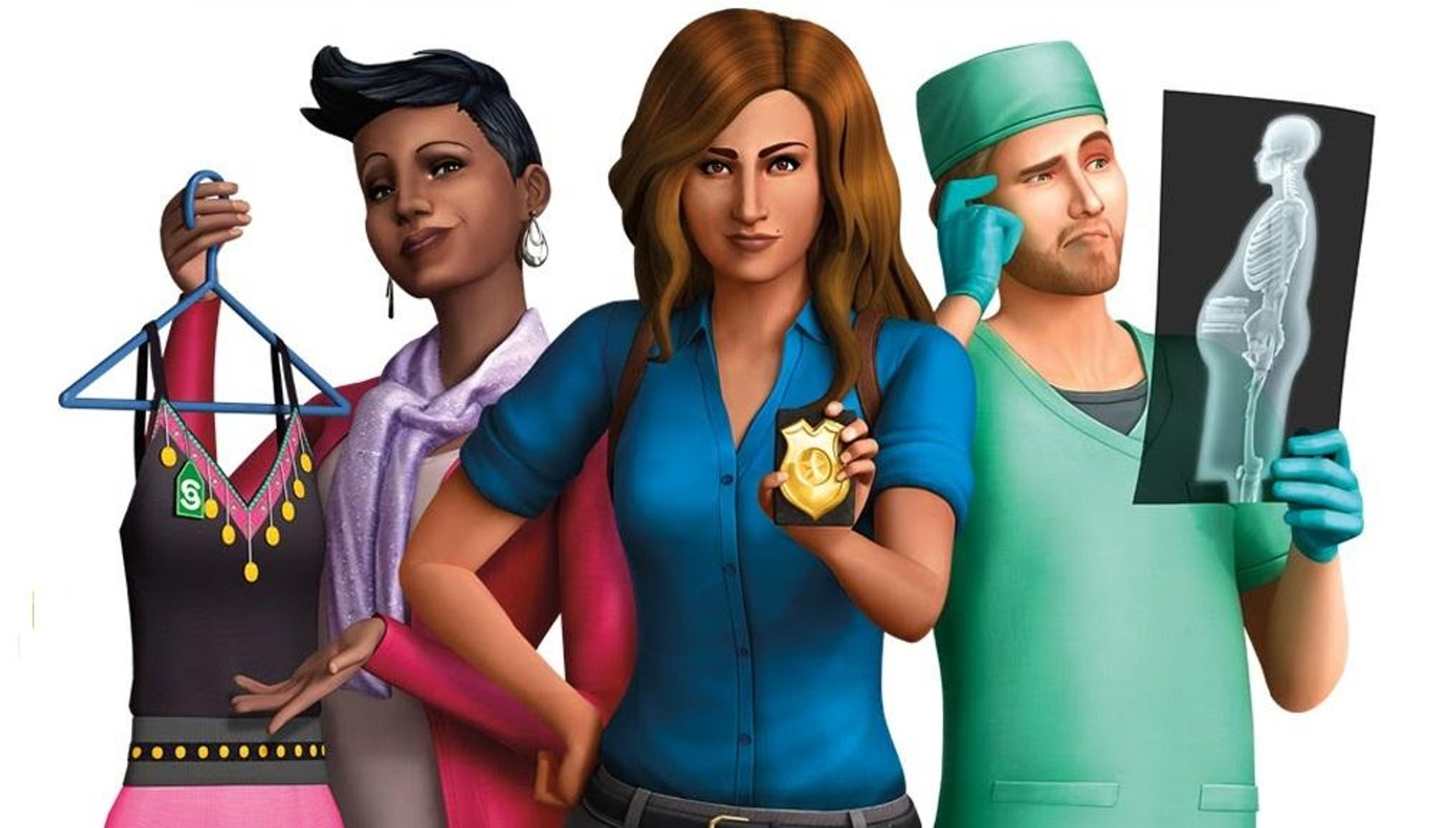 🔥 THE SIMS 4 GET TO WORK ORIGIN KEY RU/CIS
