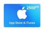 iTunes Gift Card (Russia) 2500 рублей. Гарантии. Бонус.