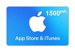 iTunes Gift Card (Russia) 1500 рублей. Гарантии. Бонус.