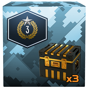 Armored Warfare3 days premium status, 3 gold containers