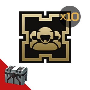 Armored Warfare: Golden badge (crew) 10pcs