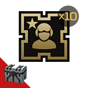 Armored Warfare: Golden badge (commander) 10pcs