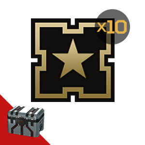 Armored Warfare: Golden badge (experience) 10pcs