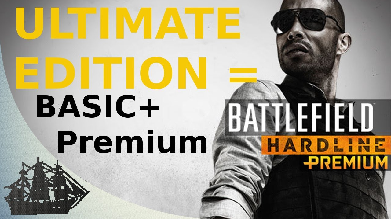 Battlefield Hard line Ultimate Edit REGION FREE ORIGIN 2019