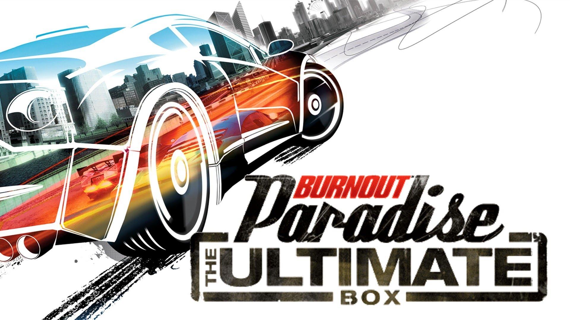 Burnout Paradise The Ultimate Box REGION FREE ORIGIN 2019