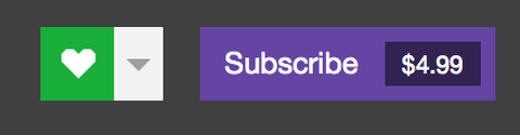 Twitch Gift Subscriptions to any channel 1-3 level Sub 2019